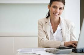 list of administrative skills bookkeeper at computer paperwork and calculator