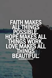 Love And Faith Quotes