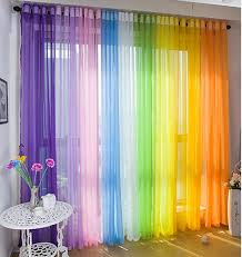 a13 home sheer curtain blue white pink multi color tulle pertaining to curtains plan 3