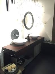 smart bathroom vanity design with a bowl sink and storage space underneath contemporary bathroom sinks design25 sinks