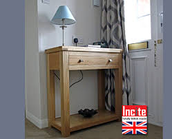 small hall table with drawers. Drawer Dark Inspirations Small Console Hall Tables With Slim Table TV Cabinets British Handmade Drawers D
