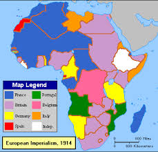 European Imperialism in Africa Map Handout   Africa map  Africa     SlideShare     possible