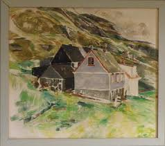 Ruth Smith, Painting of the village Nes in Suduroy. - Picture of Ruth Smith  Art Museum, Vagur - Tripadvisor