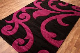 pink and black rug. Black And Pink Area Rug Designs L