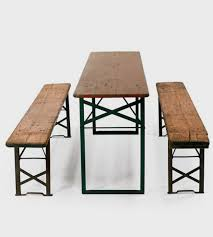 beer garden table. Vintage Biergarten Table \u0026 Benches | This And Set Is Straight Out Of Beer Garden A