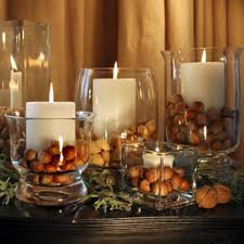 Comely Home Accessories Designs With Rustic Candle Centerpieces : Classy  Design Ideas Using Small Rectangle And