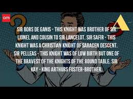 who was the bravest knight of the round table