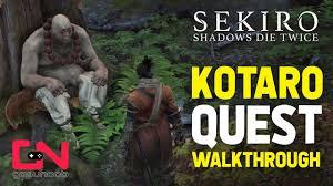 Sekiro - Kotaro NPC Quest Walkthrough - <b>White Flower</b>, Taro ...