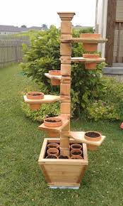 Adjustable Cedar Plant Stand with VIDEO! Splined Miter, Dowel joinery  Perfect for an herb garden!