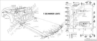 ford truck technical drawings and schematics section h wiring 1969 f 350 marker lights