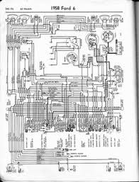 ford 500 diesel truck wiring for switch diagram google search 1958 ford 6 wiring schematic