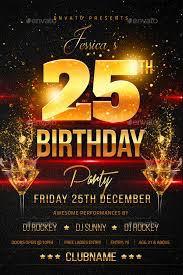 27 Birthday Flyer Templates Creatives Word Psd Ai Indesign