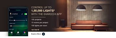Svarochi Lights Price Svarochi Smart Led Lights Control Lights With Smartphone
