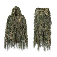 2019 hybrid woodland camouflage ghillie suit light weight hunting suit silent from combat ch 59 29 dhgate com