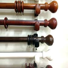 wooden curtain rods 2 inch diameter curtain rods curtain gorgeous ideas wood curtain rods wooden curtain