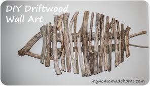 Driftwood Wall Art Diy Driftwood Fish Wall Art Home Design Ideas Living  Room Wall Art Abstract Wall Decor