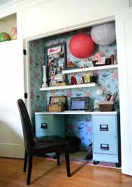 turn closet into office. Closet Desk Turn Into Office T Home Design Ideas . L