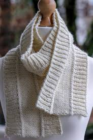 Easy Knit Scarf Pattern Free Simple Inspiration