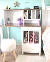 Bedroom Desks With Drawers Narrow Desk With Shelves Excellent Desk White  With Drawers On Both Sides