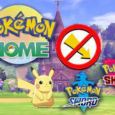Pokémon Home Can't Transfer Every Pokémon to 'Pokémon Sword and Shield'