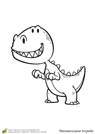 Coloriage D Un Dinosaure Pour Les Petits Un Tric Ratops