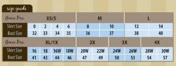 Genie Zip Bra Size Chart A Review Of The Genie Bra The Good The Bad And The Facts