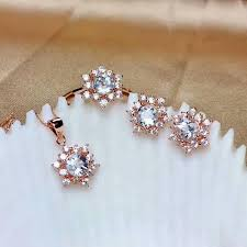 2019 <b>Shilovem 925 Sterling Silver</b> Real Natural Aquamarine Rings ...