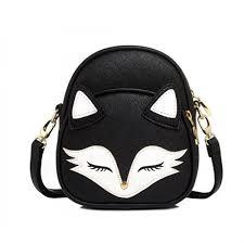 cute fox rabbit cat bear face women bag baby girl mini shoulder bag for women cross bags lady pu leather handbags animal welcome to our 1
