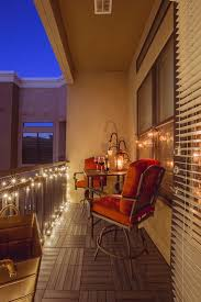 balcony lighting ideas. A Small Balcony Light Up At Night By String Lights And Candles Lighting Ideas B