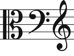 The two c clefs in use today are the alto clef and the tenor clef the alto clef has the 3rd line bisecting the clef, showing the third line to be middle c. 4 Common Clefs Often Used In Music
