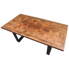 Birch Coffee Table Vintage Danish Poul Cadovius For France Son Birch Coffee Table