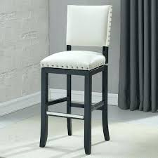 white leather counter stools with zenith inch trim bonded height stool backless faux heigh