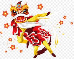 #gongxifacai may this year bring you prosperity, good luck and good fortune! Tarian Naga Barongsai Tahun Baru Cina Gambar Png