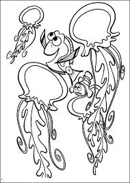 Disegno Di Marlin Dory E Le Meduse Alla Ricerca Di Nemo Da Colorare