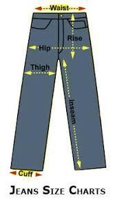 Abercrombie Mens Size Chart Jeans Size Charts Shop Dreams Jeans Size Jeans High