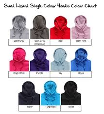 Hoodie Colour Chart Leavers Hoodie 2019 With Leavers 2019 Down Left Sleeve 25 Colours To Choose From