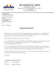 Sample Employment Offer Letter Template 10 Employee Offer Letter Far Wake