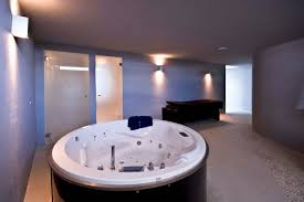 Bathroom:Smart Ways To Place Your Original Jacuzzi Design For Your Homes  Ultra Modern Round