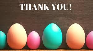 Thank You Easter Easter Egg Raffle Thank You Oatley Public School