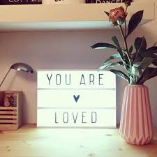 A4 Cinematic <b>Light Up Letters Card</b> Box Sign Lightbox DIY Message ...