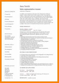 Sales Representative Resume Examples 100 sales representative resume example sap appeal 68