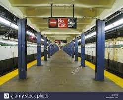 empty subway train. Plain Empty Empty Subway Platform In New York City  Stock Image Throughout Empty Subway Train