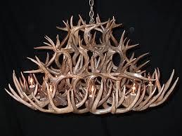 lighting extraordinary real antler chandelier 16 amazing small deer real moose antler chandelier