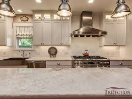 pure white quartzite countertops after 4