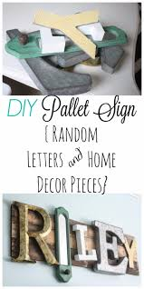 diy wall letters and initals wall art eclectic pallet name sign cool architectural letter