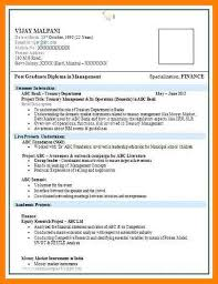 6 Fresher Resume Templates Free Download Trinity Training