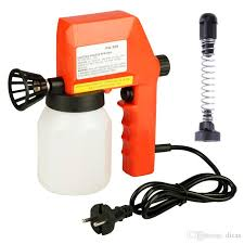 2019 diy mini electric airless sprayer 600ml electric spraying hand painting spraying tool electric coating machine home car decoration from dicas