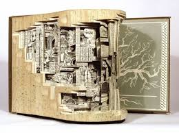 recycled old used books