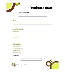 Free Business Plan Templates Word Basic Business Template