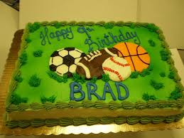 birthday cakes for boys sports.  Boys Sports Birthday Cake And Cakes For Boys H